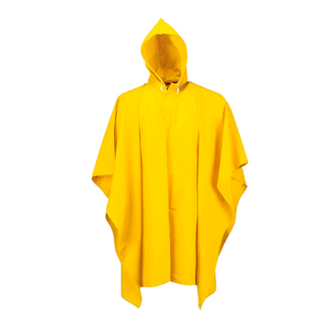 Poncho estándar amarillo